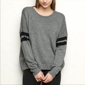 Brandy Melville • Veena Varsity Stripe Sweater